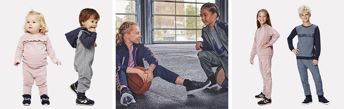 21a006b3d233 Hummel laver lækkert børnetøj og sneakers til seje drenge og piger i  klassiske farver. Tøjet er slidstærkt og kan tåle at blive brugt i  hverdagen.