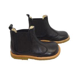 Pom Pom chelsea støvler - Sort