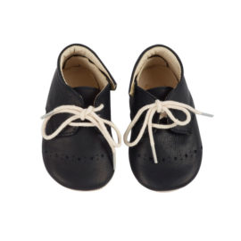 Young Soles sko m. hulmønster - Sort top