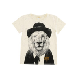 Soft Gallery t-shirt m. løve - Desert neppy sherif